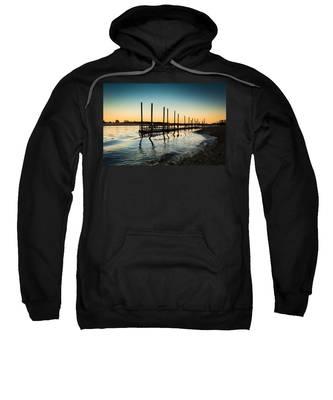 Wavy Sunset Kings Park New York Sweatshirt