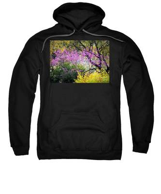 Spring Trees In San Antonio Sweatshirt