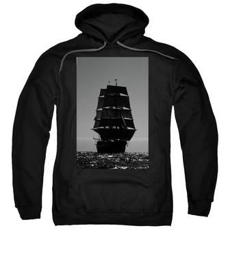 Back Lit Tall Ship Sweatshirt