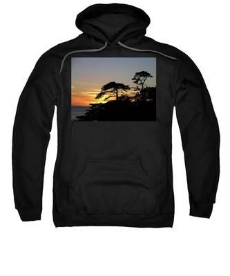 California Coastal Sunset Sweatshirt