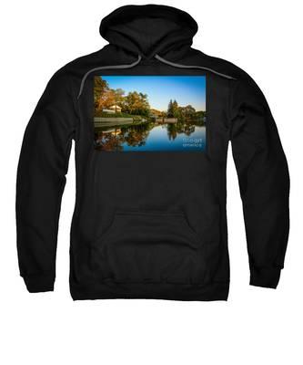 Centerport Harbor Autumn Colors Sweatshirt