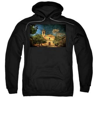 Church In Peillon Sweatshirt