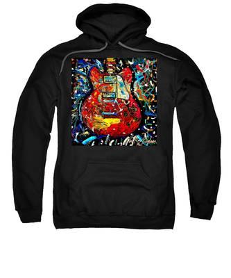 Color Wheel Guitar Sweatshirt