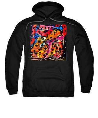 Dancing Car Keys Sweatshirt