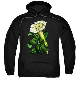 Datura Hooded Sweatshirts T-Shirts