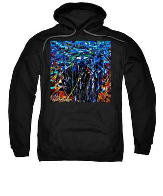 Eye In The Sky And Water Sweatshirt