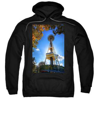 Fall Day At The Space Needle Sweatshirt