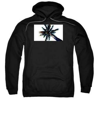 Frazzled Palm Tree Sweatshirt
