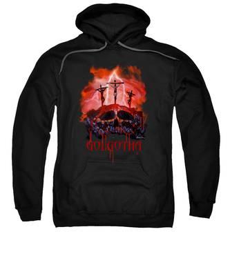 Golgotha Hooded Sweatshirts T-Shirts
