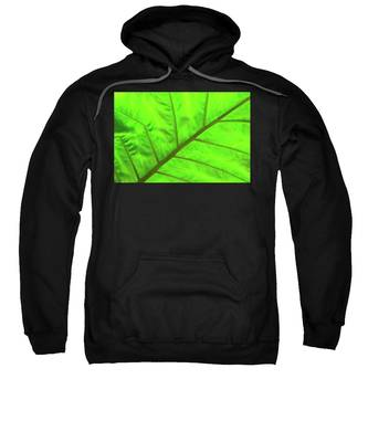 Green Abstract No. 5 Sweatshirt