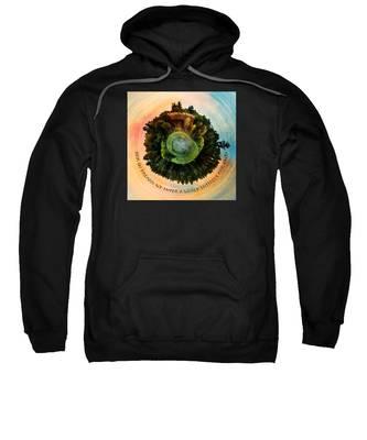 In Dreams A World Entirely Our Own Orb Sweatshirt