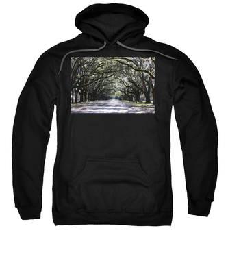 Live Oak Lane In Savannah Sweatshirt