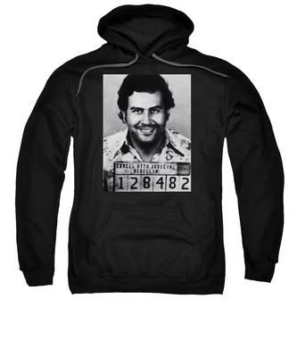 Pablo Escobar Mug Shot 1991 Vertical Sweatshirt