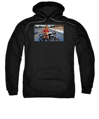 Red Is Not Always For Ducati Sweatshirt