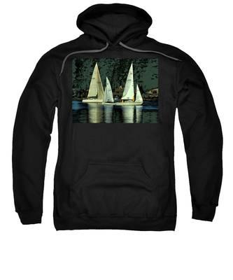 Sailing The Harbor Sweatshirt