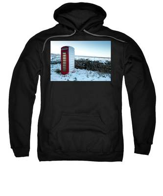 Snowy Telephone Box Sweatshirt