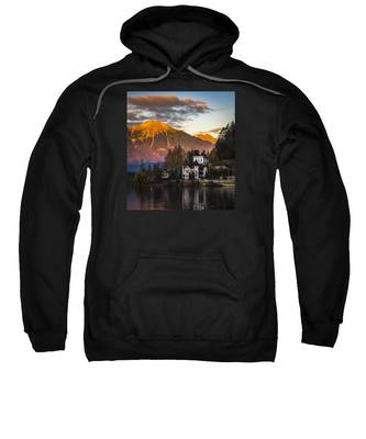 Sunset At Bled Sweatshirt