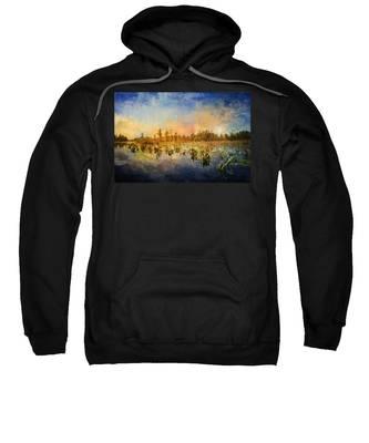 Sunset Over The Okefenokee Sweatshirt