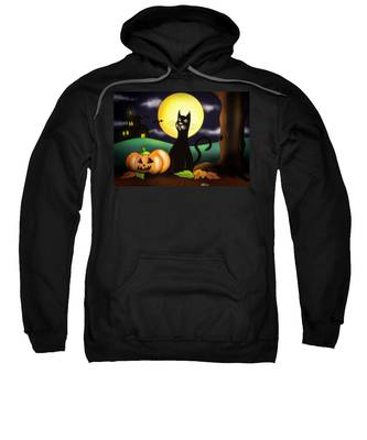 The Black Cat Sweatshirt