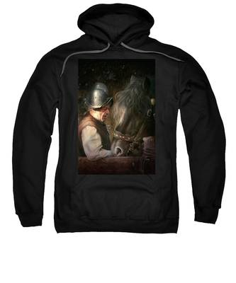 The Old Man And His Trusty Friend Sweatshirt