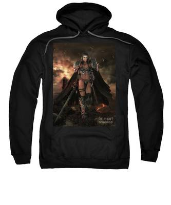 There Be Dragons Sweatshirt