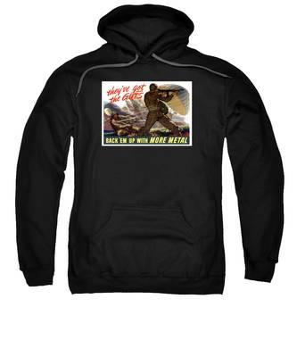 War Effort Hooded Sweatshirts T-Shirts