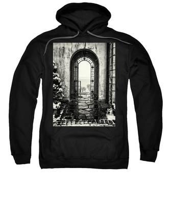 Vanderbilt Doorway In Centerport Sweatshirt