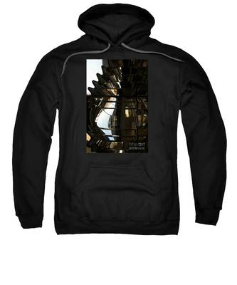 Within The Rings Of Lenses And Prisms - Water Color Sweatshirt