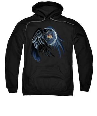 Crow Indians Hooded Sweatshirts T-Shirts