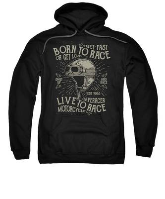 Cafe Racer Hooded Sweatshirts T-Shirts