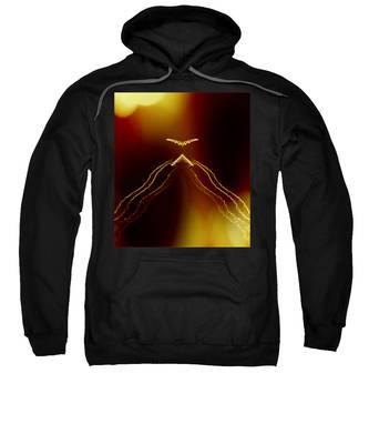 Sweatshirt featuring the photograph Cloaking by Judy Kennedy
