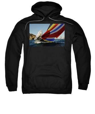 Colorful Spinnaker Run Sweatshirt