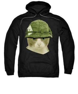 Navy Hooded Sweatshirts T-Shirts