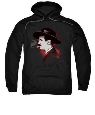 Western Hooded Sweatshirts T-Shirts