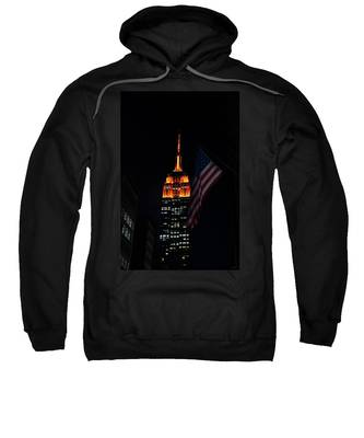 Empire State Building American Flag Sweatshirt