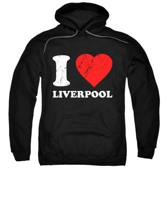Liverpool Hooded Sweatshirts T-Shirts