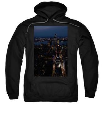 Madison Square Garden At Night Sweatshirt