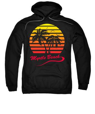 Sunset Hooded Sweatshirts T-Shirts