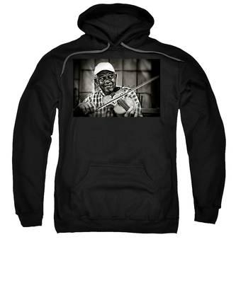 New York Street Fiddler Sweatshirt