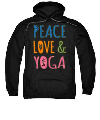Peace Love Yoga Sweatshirt