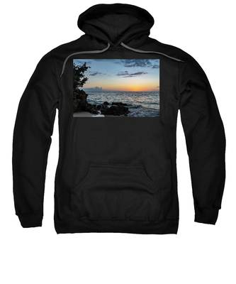 Sunset Afterglow In Negril Jamaica Sweatshirt