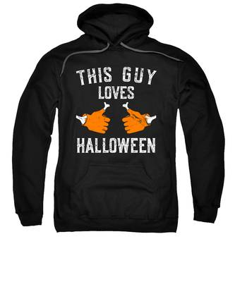 This Guy Loves Halloween Sweatshirt