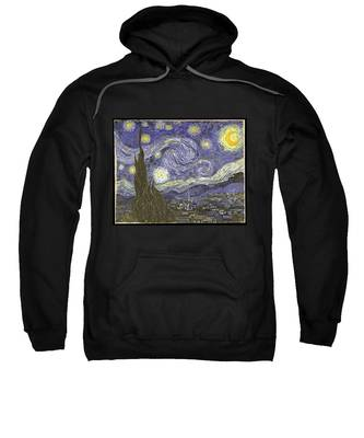 Van Goh Starry Night Sweatshirt