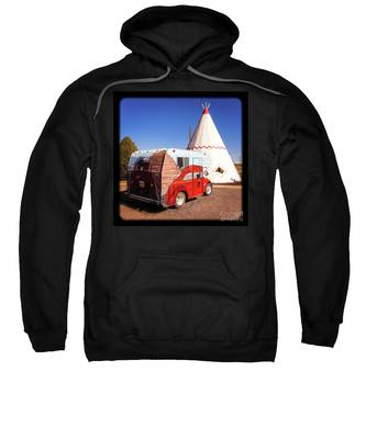 Vintage Volkswagon Beatle Camper  Sweatshirt