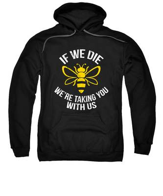Bee Colony Hooded Sweatshirts T-Shirts