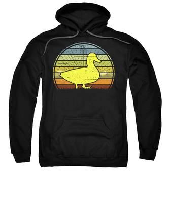 Duck Hooded Sweatshirts T-Shirts