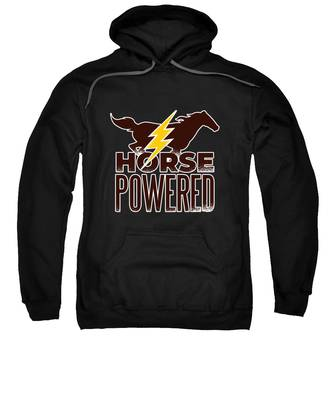 Horse Race Hooded Sweatshirts T-Shirts