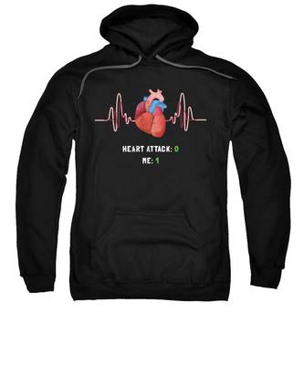 Heart Attack Hooded Sweatshirts T-Shirts