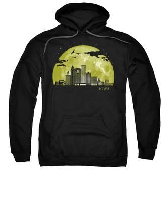 Iowa Hooded Sweatshirts T-Shirts