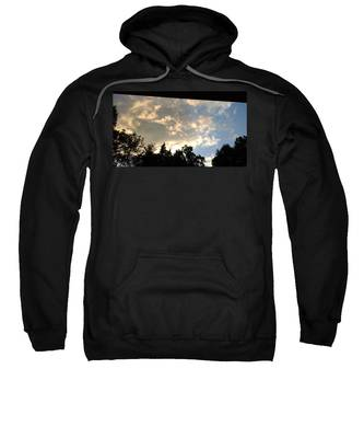 Blue Sky Hooded Sweatshirts T-Shirts